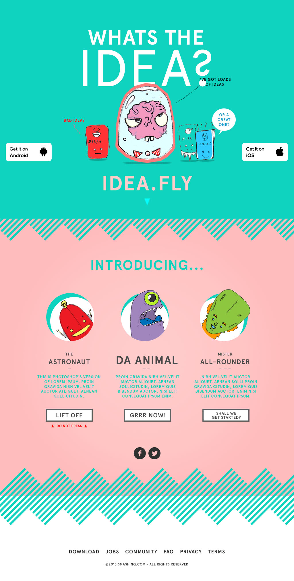 ideafly_characters_01 1 - Graphic Design Project Ideas
